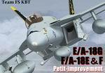 Team FS KBT FA-18E,F and  EA-18G  FSX Update