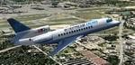 FS2004                   Bluestream Airlines (va) - Dassault Falcon 7x