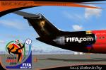DC9-30 Sky Simulation FIFA World Cup Trophy Textures