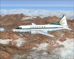 Frontier Convair 340 Textures