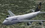 FS2004                   Boeing 747-400 Lufthansa.