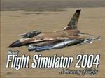 FS2004                     F-16 Splash Screen Full Load out for the F-16 Flying into                     Baghdad