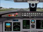 FS2004                   Canadair Regional Jet panel Version 4