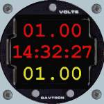 FS98                                     & CFS Mouseable Clock/simulation rate/                                     zoom instrument