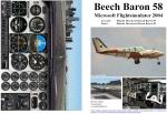 FS2004                   Manual/Checklist -- Default Beechcraft Beech Baron 58.