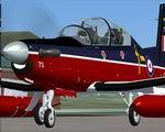 Iris FSX T-6A / NTA Texan II RAF Linton on Ouse V2 Textures