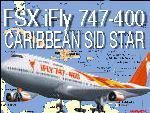 FSX iFly747 Caribbean SID STAR