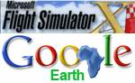 FSX                   Airports and Navaids in Google Earth