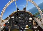 FSX                   / FS2004 Generic Photoreal old style Jet Fighter Panel