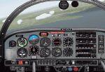 Grumman                   AA-5ab plane & panel