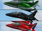FS2004                   'Red Arrows', 'Black Seahawks' and 'Saudi Hawks' Panel Fix