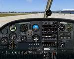 FS2004                   PA-28 Piper Cherokee 140 Photoreal Panel.