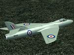 FS2004                   Hawker Hunter WB188