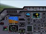 FS2000                   Hawker 800XP panel