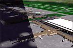 Houston                   George Bush Intercontinental Airport scenery for FS2000