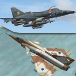 FS2004                   IAI Kfir C7 - Expansion Pack C2 and F-21A