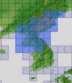 ASTER GDEMv2 30m mesh for North Korea pt1/3