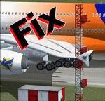 FSX                   LSZH Zurich Airport, Checkered Shed Fix.