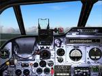 FS2004                   Photorealistic Panel for the EE Lightning T.Mk.5.