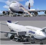 Boeing 747-840i Lufthansa Delux Package
