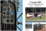 FS2002                   Manual/Checklist -- Cessna 185 on wheels.