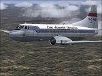 FS2004                   Martin 2-0-2 Linea Aeropostal Textures only