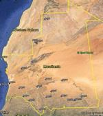 FSX Mauritania Airfield Locator