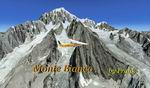 FSX                   Mont Blanc, French Alps, Photorealistic Scenery