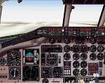 FS2000                     MD-80 Panel in brown and digital HSI-ADI