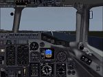 MD-90                     1st officer view