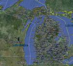 FSX Michigan Airfield Locator