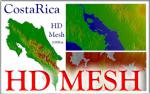 HD Mesh for Costa Rica