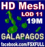 Galapagos Islands HD 19M Mesh