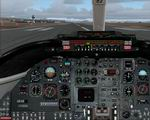 FS2004                   Photoreal panel Learjet-35