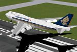 Boeing                   747-400 Singapore Airlines for FS2000