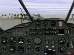 FS98                     Panel for Beechcraft D18S with navigational aids