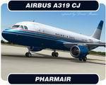 Pharmair Airbus A319 Textures
