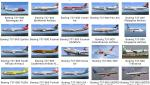 101-Liveries-Pack  for the Boeing 737-800