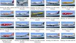151 Liveries Collection Pack for Default B737-800 by Edoardo Ammannati