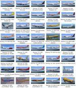 169 Liveries Collection Pack for Default B737-800 V3