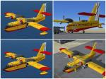 FSX Canadair CL-215 Ejercito del Aire (Spain) Textures