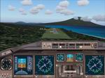 FS2004                   Generic High View Twin Engine Commercial Jet Panel