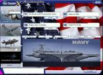 American F35 Navy Theme Splashscreen