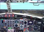 FS2000/2002                   - 727 First Officer's position panel