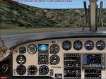 FS2004                   Beechcraft Queenair BE65/BEA65 Panel.