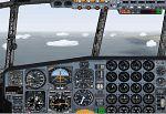 Royal                   Air Force C130 Hercules aircraft & panel