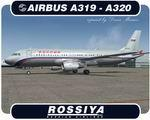 Rossiya Airlines Airbus A320-212 and A319