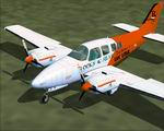 FS                   2004 Beechcraft Baron 58 TC 'RSDG' Livery.