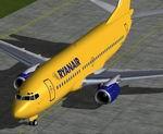 FS2004/2002                   Boeing 737-300 RyanAir.