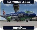 Airbus A320-231 Myair Scirocco
